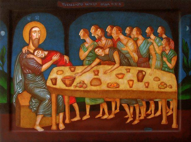 Julia Stankova - The Last Supper 40x53 2017