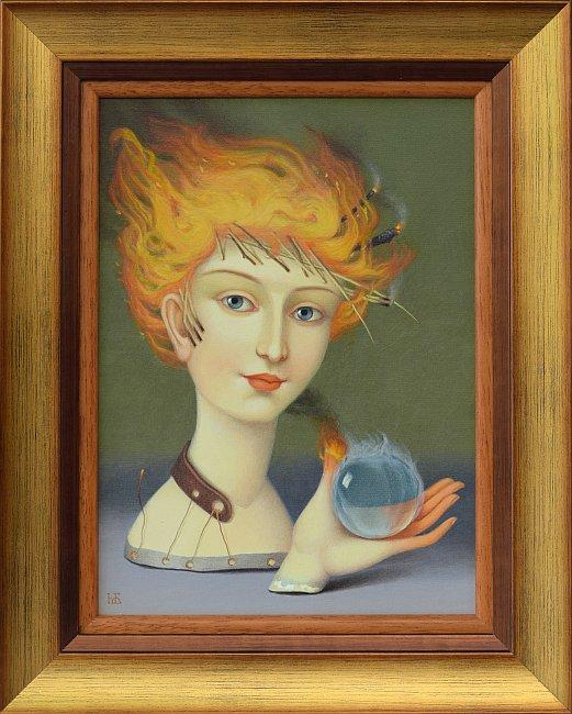 Марина Богданова - Огън момиче-30x22