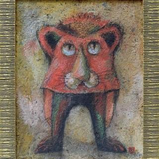 Peter Dimov - Lion- 50x40- 2001