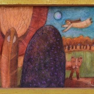 Peter Dimov - Pastoralen motiv - 35x43