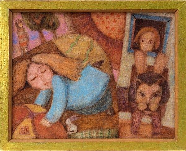 Спомен - картина от Петър Димов - 29x36