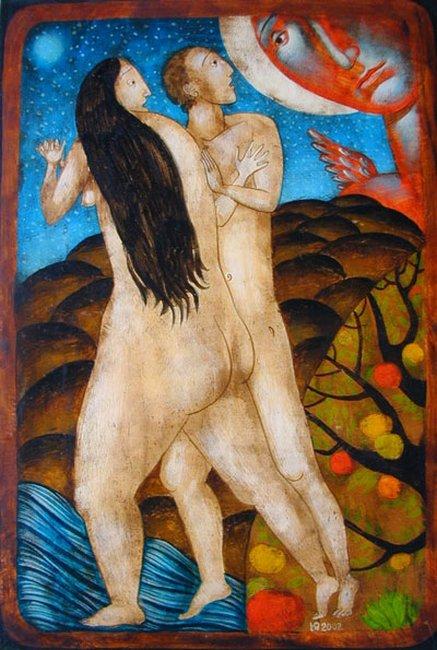 Yulia Stankova - Izgonvane ot Raya 32x22 2002