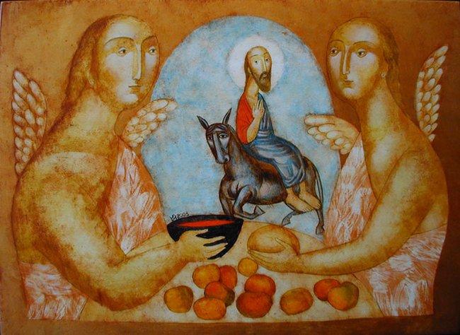 "Юлия Станкова - ""Влизане в Ерусалим"", 2003 г."