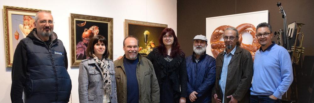 художници в галерия париж