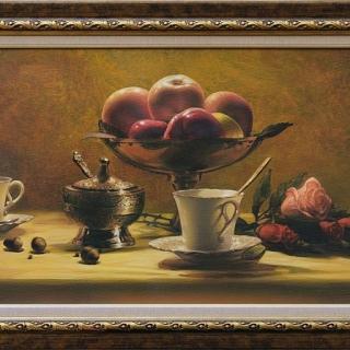 Maria Varbanova - Tea time IX - 37x81