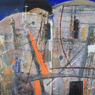 Valentin Topalov - Spomeni za Ohrid III-50x70