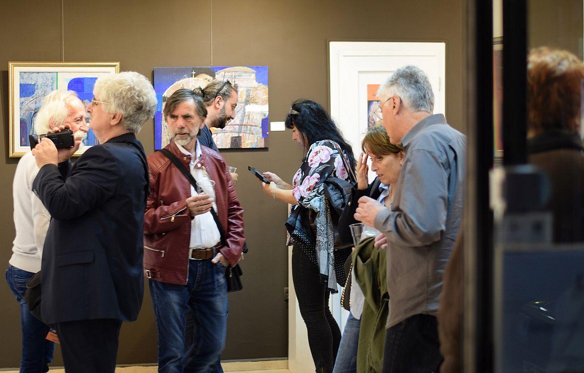 Valentin Topalov - otkrivane na izlozhba v galeria Paris