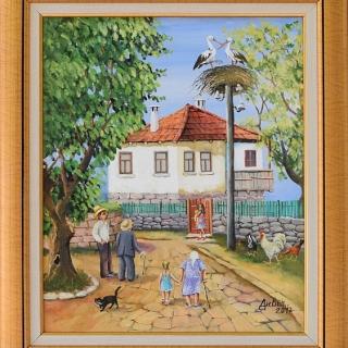 Димитър Вецин - Завръщане- 46x38