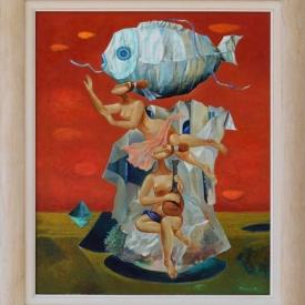 Rosen Krastev - Nad ostrova_60x50