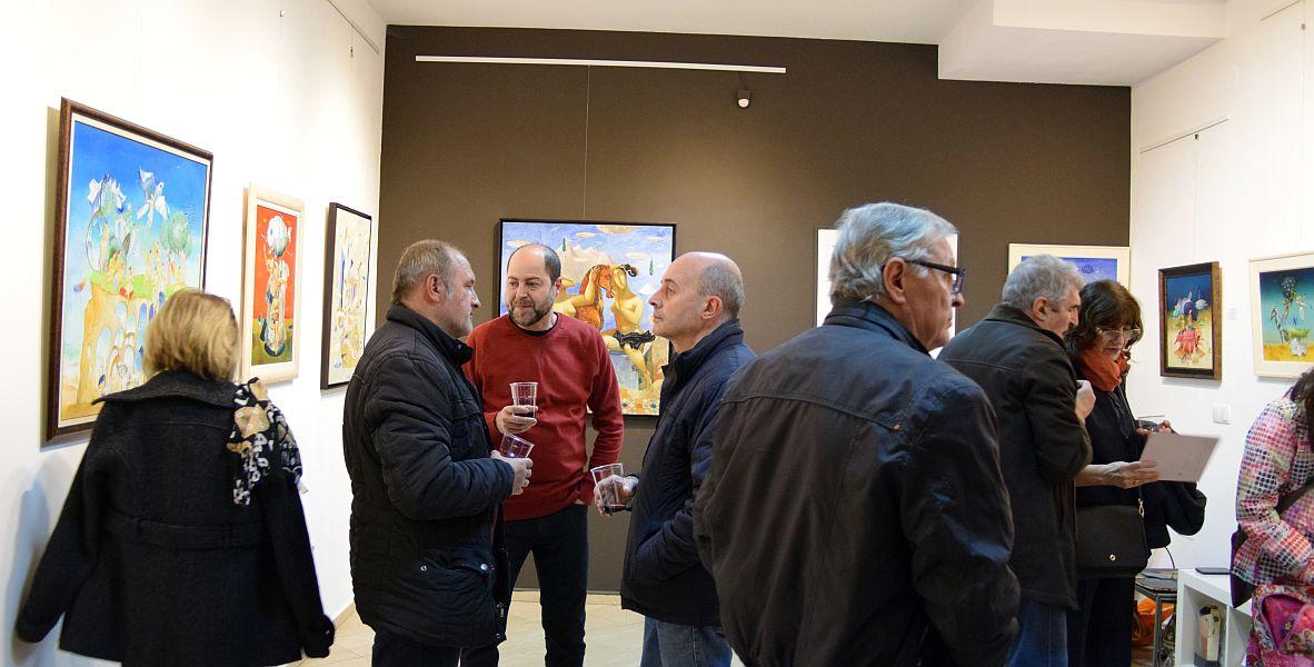 Rosen Krastev- otkrivane na izlozhba v galeria Paris 2017