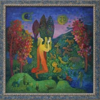 Ani Tuzsuzova - Orfei- 50x50-1998