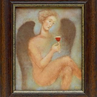 Julia Stankova - Nebesen skitnikII - 25x20