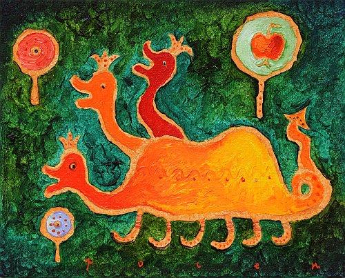 Roshpaka - Lamiata i zlatnata yabalka-22x27