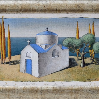 Vladimir Shunev - Motiv ot Rodos-27x41