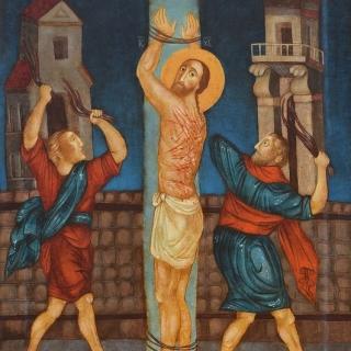 Юлия Станкова - Бичуване на Христос