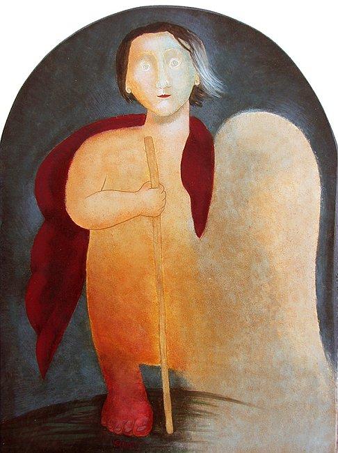 Julia Stankova-Heavenly Wanderer 40x30
