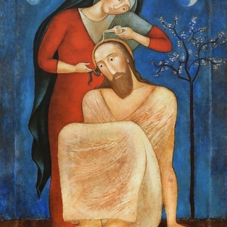 Юлия Станкова - Помазание на Христос (Anointing of Jesus Christ), 53/40