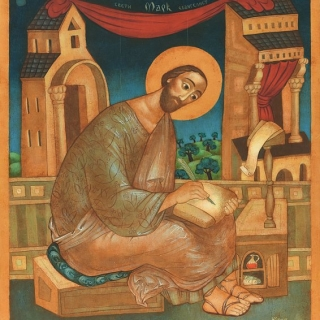 Юлия Станкова - Свети евангелист Марк (St Mark the Evangelist), 40/35