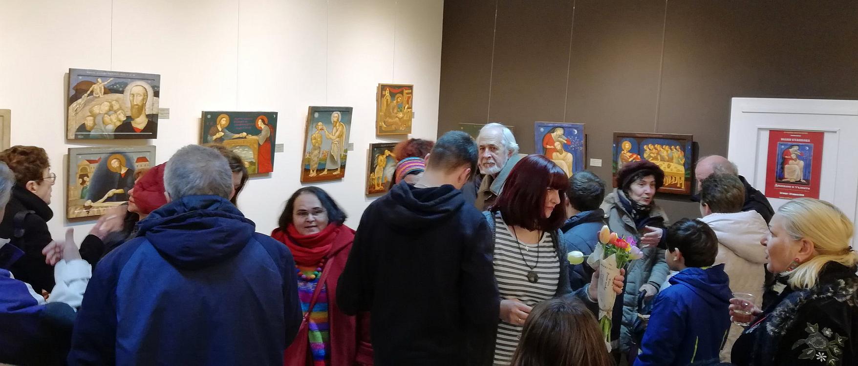 Юлия Станкова - откриване на изложба 2018-3