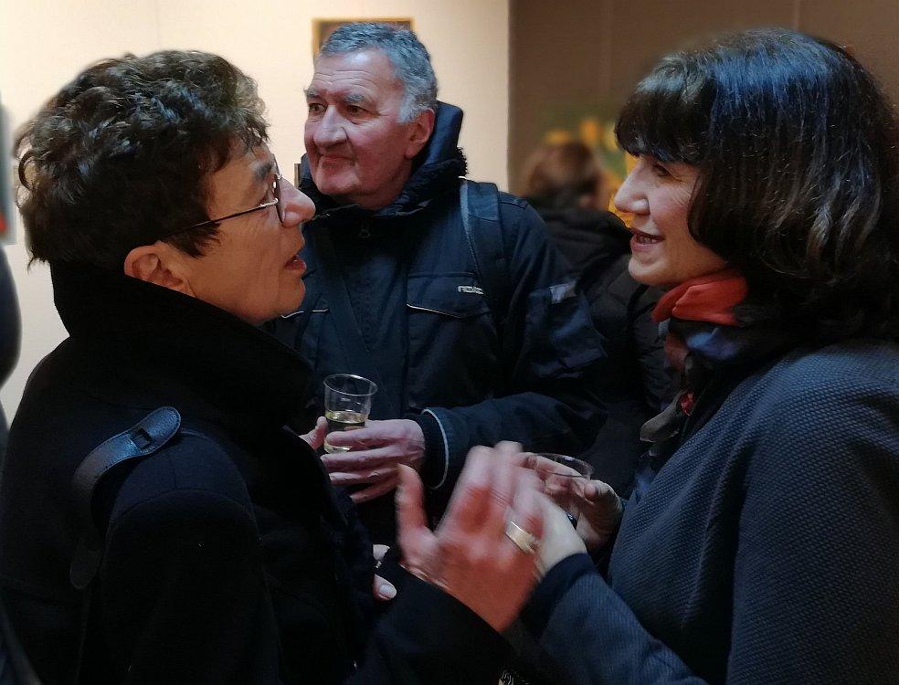Зелма Алмалех, Стефан Джамбазов и Юлия Станкова- галерия Париж 2018