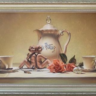 Мария ВЪРБАНОВА - Tea time VIII, 45/85 см.