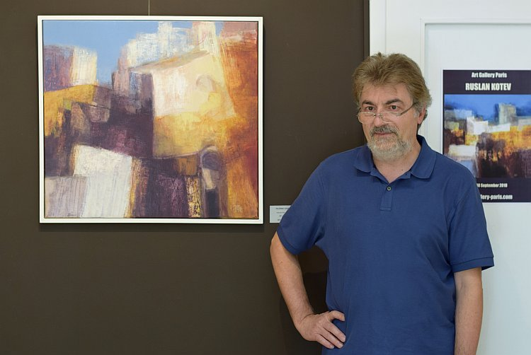Руслан Котев - художник, абстрактна живопис