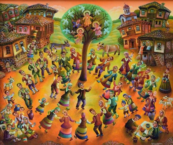 Анета Яламова - Селски празник