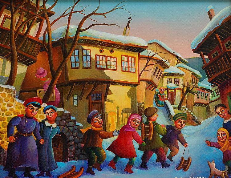 Анета Яламова - Зима на улица Гурко