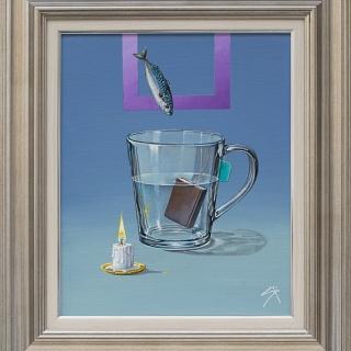 Станислав Вардев - Паметта на водата, 40/30 см.