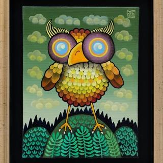 Guido Vedovato -Owl-20x15-2014