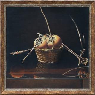Valeri Varbanov - Natyurmort s raiski yabalki 3- 50x50