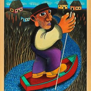 Guido Vedovato- Laguna Veneta-40x50-2012-2