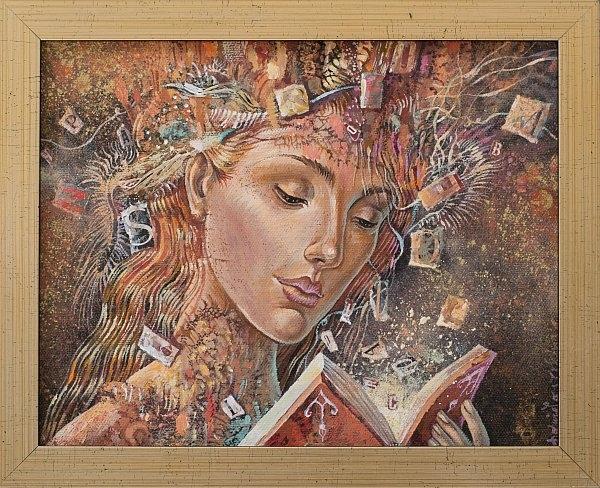Daniela Zekina - Chetene- 25x20cm