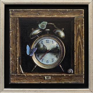 Iskren SEMKOV - Time Travelers-20x20cm
