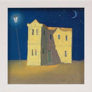 Dimitar Karatonev - Night 1- 20x20cm