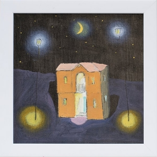 Dimitar Karatonev - Night 2- 20x20cm