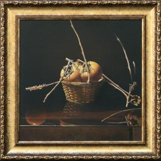 Vallery VARBANOV - Natyurmort s raiski yabalki 3- 50x50cm