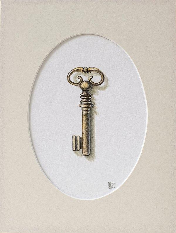 Iskren Semkov-Object Key-24x18