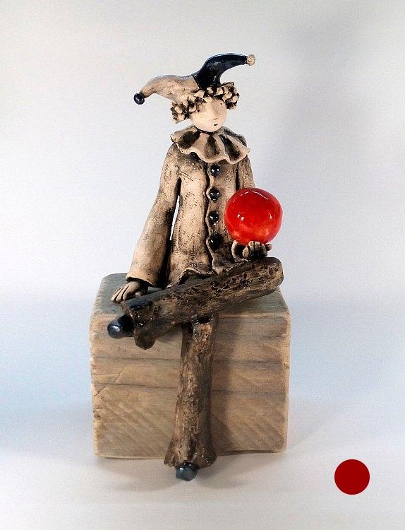 Izabell Nemechek-Клоунът с червената топка