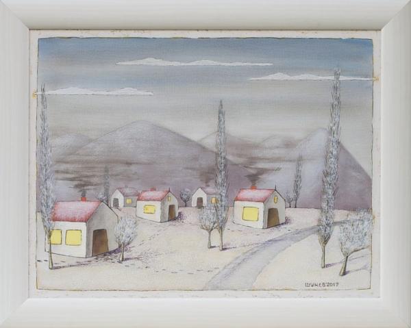 Vladimir Shunev- Zimna prikazka-50x65cm