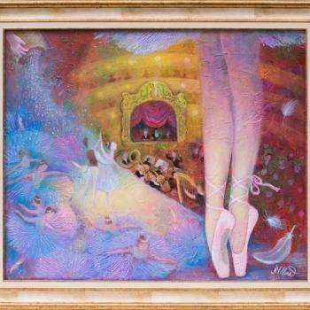 Natasha Villone- Ballet-50x60cm-2019