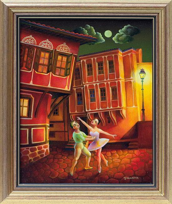 Aneta Yalamova- Noshten balet-41x33cm