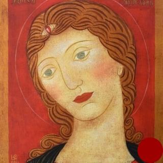 Julia Stankova- Angel Zlativlasi-28x22cm