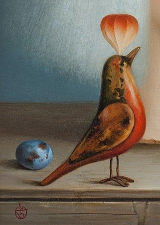 Dimitar BOGDANOV - painting detail-01