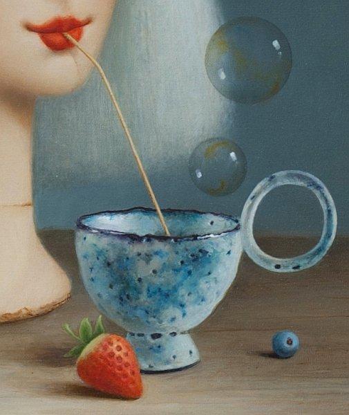 Dimitar BOGDANOV - painting detail 02