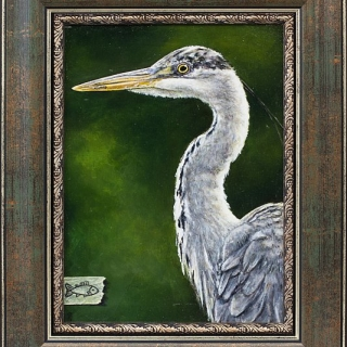Iskren SEMKOV - Heron, 26x19-33x26