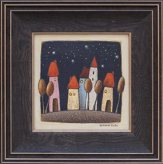 SHUNEV- Night Motive 6, 15x15cm