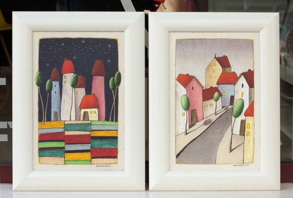 Vladimir SHUNEV - Two paintings