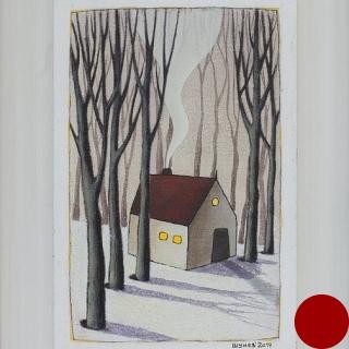 Vladimir SHUNEV- Winter 1, 33x22cm