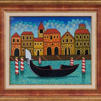 Guido Vedovato- Venice-24x30cm